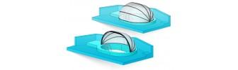 Павильон для бассейна из поликарбоната — «Ракушка»