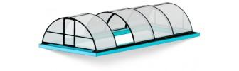 Павильон для бассейна из поликарбоната — «Классик»