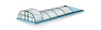 Павильон для бассейна из поликарбоната — «Горка»