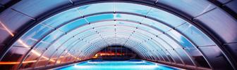 Павильон или навес для бассейна из поликарбоната