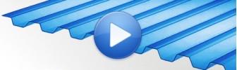 Профилированный поликарбонат видео