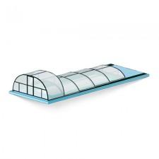 Комбинированный павильон для бассейна – «горка»