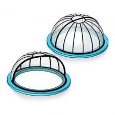 Павильон для бассейна – «купол»