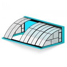 Павильон для бассейна – «настенный»