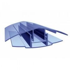 Профиль соединительный разъемный из поликарбоната