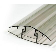 Профиль соединительный разъемный (крышка 6-16 мм)