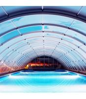 Павильон для бассейна или навес для бассейна из поликарбоната