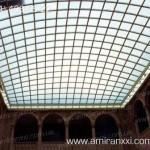 Применение поликарбоната в строительстве. Накрытие крыши поликарбонатом.