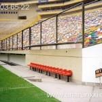 Применение монолитного поликарбоната в строительстве. Защита на спортивных аренах.