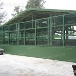 Применение монолитного поликарбоната в строительстве. Забор из поликарбоната.