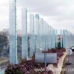 Применение монолитного поликарбоната в строительстве. Шумозащита из поликарбоната.