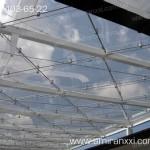 Применение монолитного поликарбоната в строительстве. Крыша из поликарбоната.
