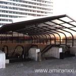 Применение монолитного поликарбоната в строительстве. Переход из поликарбоната.
