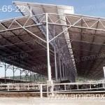 Применение профилированный поликарбоната в строительстве. Ферма из поликарбоната.