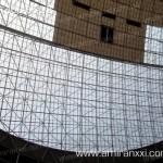 Применение монолитный поликарбоната в строительстве. Фасад из поликарбоната.