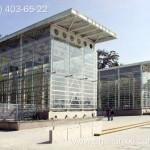 Применение монолитный поликарбоната в строительстве. Оранжерея из поликарбоната.