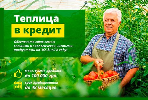 Кредит на поликарбонат в Украине
